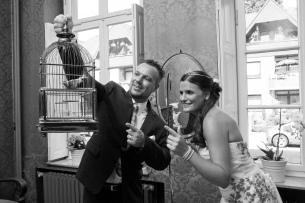Hochzeit von Karina und Kay / Spezielle Ideen waren herzlich willkommen / Das Brautpaarshooting hat mir große Freude bereitet.